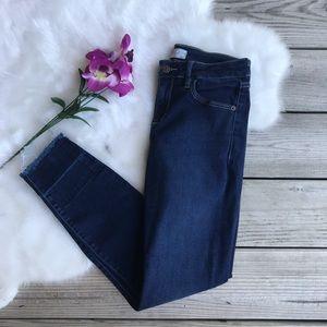 Hidden Clean Released Hem Skinny Jeans